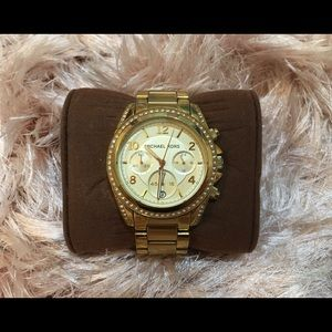 Michael Kors Golden Blair Glitz Watch $275